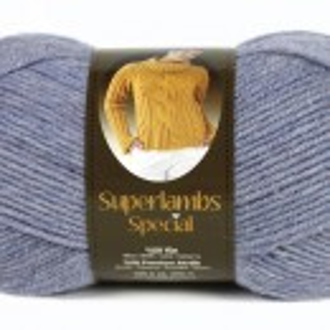Fir de tricotat sau crosetat - Fire tip mohair din lana 50% si acril 50% Nako Superlambs Special bleo 149