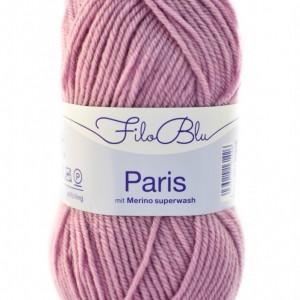 Fir de tricotat sau crosetat - Fire tip mohair din poliester Filo Blu - PARIS - 04 - ROZ