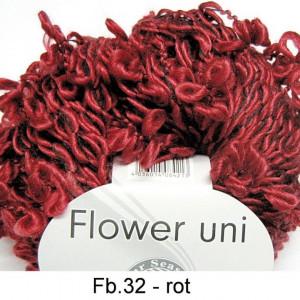 Fir de tricotat sau crosetat - FLOWER by GRUNDL UNI ROSU - 32