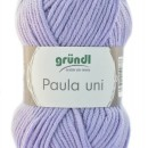 Fir de tricotat sau crosetat - PAULA UNI by GRUNDL LILA -55