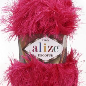 Fir de tricotat sau crosetat - FANCY - ALIZE DECOFUR ROZ 149