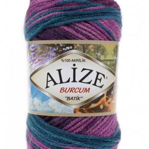 Fir de tricotat sau crosetat - Fir ACRILIC ALIZE BURCUM BATIK DEGRADE 3366