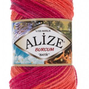 Fir de tricotat sau crosetat - Fir ACRILIC ALIZE BURCUM BATIK DEGRADE 4595