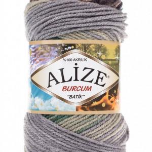 Fir de tricotat sau crosetat - Fir ACRILIC ALIZE BURCUM BATIK DEGRADE 6924