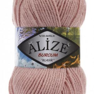 Fir de tricotat sau crosetat - Fir ACRILIC ALIZE BURCUM KLASIK PUDRA 161