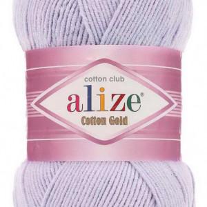 Fir de tricotat sau crosetat - Fir ALIZE COTTON GOLD LILA 682