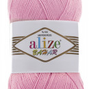 Fir de tricotat sau crosetat - Fir BUMBAC 100% ALIZE BAHAR ROZ 98