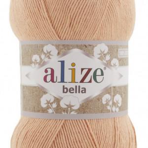 Fir de tricotat sau crosetat - Fir BUMBAC 100% ALIZE BELLA 100 - BEJ 635