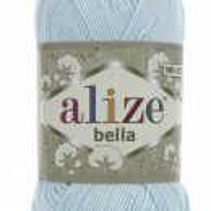 Fir de tricotat sau crosetat - Fir BUMBAC 100% ALIZE BELLA - BLEO 514
