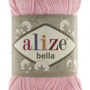 Fir de tricotat sau crosetat - Fir BUMBAC 100% ALIZE BELLA - ROZ 32