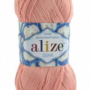 Fir de tricotat sau crosetat - Fir BUMBAC 100% ALIZE MISS FREZ 145