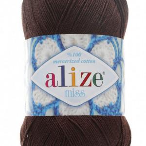 Fir de tricotat sau crosetat - Fir BUMBAC 100% ALIZE MISS MARO 26