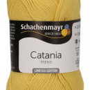 Fir de tricotat sau crosetat - Fir BUMBAC 100% MERCERIZAT CATANIA MELLOW YELLOW COD 284