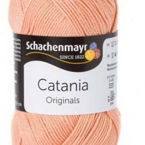 Fir de tricotat sau crosetat - Fir BUMBAC 100% MERCERIZAT CATANIA APRIKOSE 401