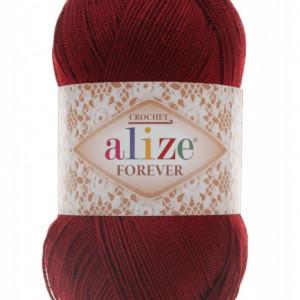 Fir de tricotat sau crosetat - Fir microfibra ALIZE FOREVER GRENA 339