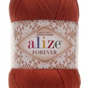 Fir de tricotat sau crosetat - Fir microfibra ALIZE FOREVER MARO 25