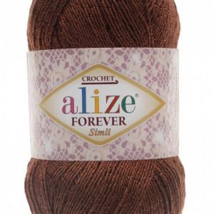 Fir de tricotat sau crosetat - Fir microfibra ALIZE FOREVER SIMLI MARO 150