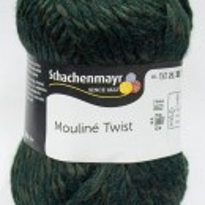 Fir de tricotat sau crosetat - Fir SCHACHENMAYR Mouline Twist VERDE 00072