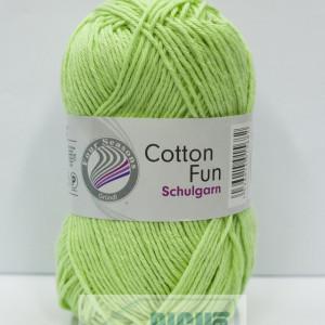 Fir de tricotat sau crosetat - Fire Bumbac 100% GRUNDL COTTON FUN VERNIL 23