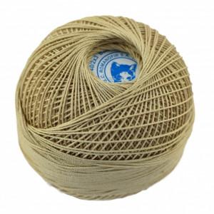 Fir de tricotat sau crosetat - Fire Bumbac 100% MACRAME ROMANOFIR BOBINA BEJ 6