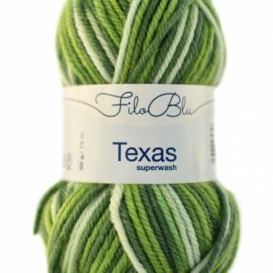 Fir de tricotat sau crosetat - Fire din lana 100% Filo Blu - Texas - 02