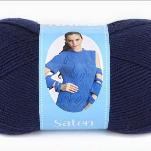 Fir de tricotat sau crosetat - Fire Nako SATEN BLEOMAREN 4253