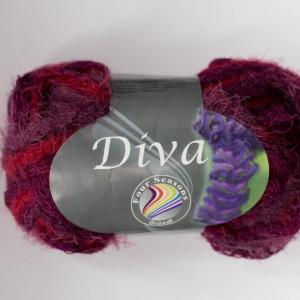 Fir de tricotat sau crosetat - Fire pretricotat esarfa GRUNDL DIVA DEGRADE 08