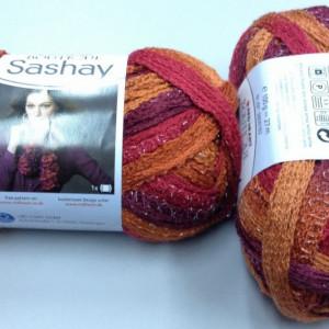 Fir de tricotat sau crosetat - Fire pretricotate esarfa SASHAY degrade S 1949