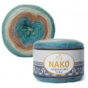 Fir de tricotat sau crosetat - Fire tip mohair acril NAKO ANGORA LUKS COLOR 81906