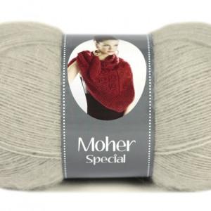 Fir de tricotat sau crosetat - Fire tip mohair acril NAKO MOHER SPECIAL BEJ 2549