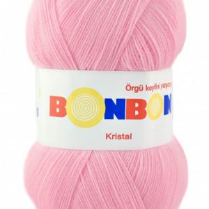 Fir de tricotat sau crosetat - Fire tip mohair din acril BONBON KRISTAL 98588