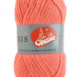 Fir de tricotat sau crosetat - Fire tip mohair din acril CANGURO - TRIS ROZ 100