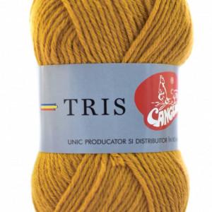 Fir de tricotat sau crosetat - Fire tip mohair din acril CANGURO - TRIS BEJ 317