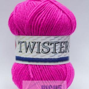 Fir de tricotat sau crosetat - Fire tip mohair din acril CANGURO - TWISTER ROZ 308