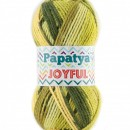 Fir de tricotat sau crosetat - Fire tip mohair din acril Kamgarn Papatya Joyful degrade 05