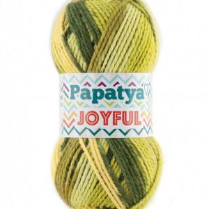 Fir de tricotat sau crosetat - Fire tip mohair din acril Kamgarn Papatya Joyful degrade 05