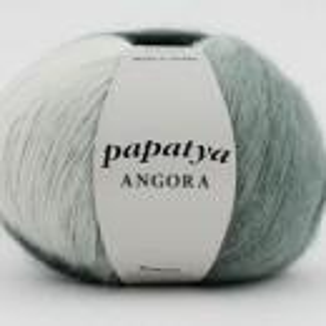 Fir de tricotat sau crosetat - Fire tip mohair din acril Kamgarn Papatya Angora degrade 24