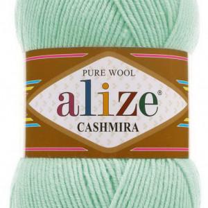 Fir de tricotat sau crosetat - Fire tip mohair din lana 100%, Alize CASHMIRA VERNIL 522