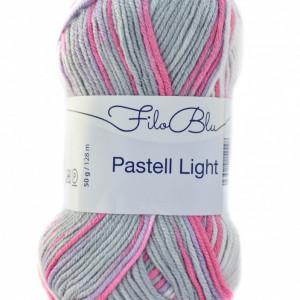Fir de tricotat sau crosetat - Fire tip mohair din poliester Filo Blu - PASTELL LIGHT 06