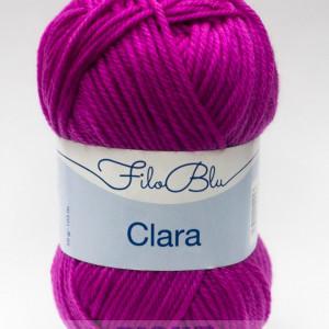 Fir de tricotat sau crosetat - Fire tip mohair din poliester Filo Blu - Clara 14