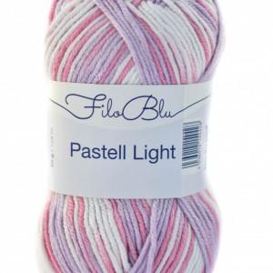 Fir de tricotat sau crosetat - Fire tip mohair din poliester Filo Blu - PASTELL LIGHT 04