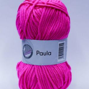 Fir de tricotat sau crosetat - PAULA UNI by GRUNDL ROZ - 14 (FLUO)