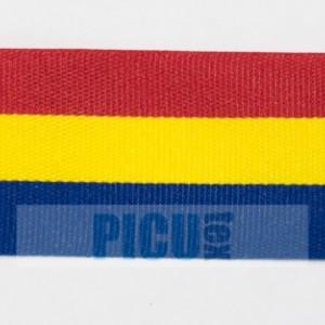 Banda tricolor  25mm