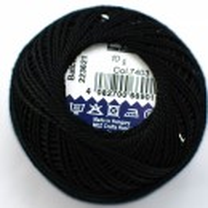 Cotton perle cod 7403 (NEGRU)