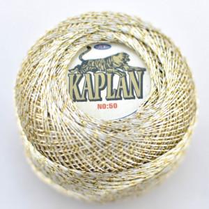 Fir de crosetat polyester + lurex KAPLAN 301