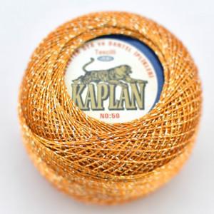 Fir de crosetat polyester + lurex KAPLAN 741