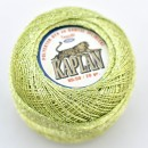 Fir de crosetat polyester + lurex KAPLAN 908