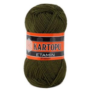 Fir de tricotat,brodat sau crosetat - Fir KARTOPU ETAMIN KAKI 410