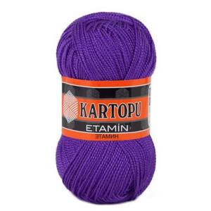 Fir de tricotat,brodat sau crosetat - Fir KARTOPU ETAMIN MOV 723