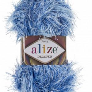 Fir de tricotat sau crosetat - FANCY - ALIZE DECOFUR BLEO 1370